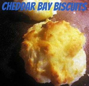 These Cheddar Bay Biscuits are a delicious dish!