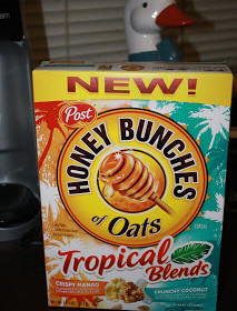 Think Tropical! with Honey Bunches of Oats!