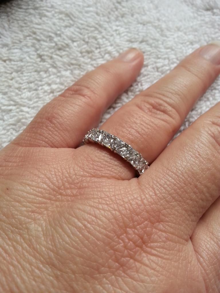 Wedding Rings On Ebay 10 Fresh Violet Eternity on my