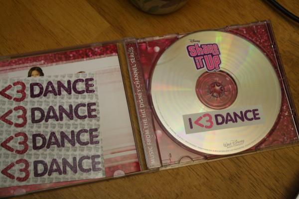 Disney's Shake It Up: I <3 Dance CD