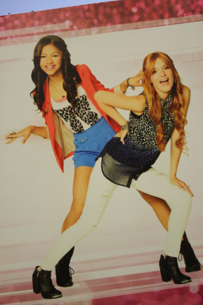 Picture on Disney's Shake It Up: I <3 Dance CD liner.