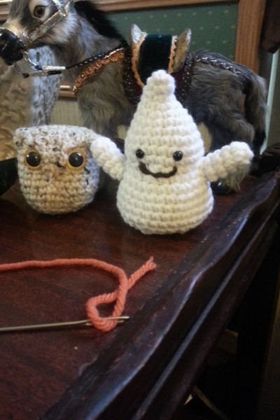 My Little Ghostie in crochet!