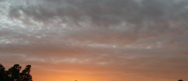 Autumn Sunset in Montgomery, Tx ~ WW