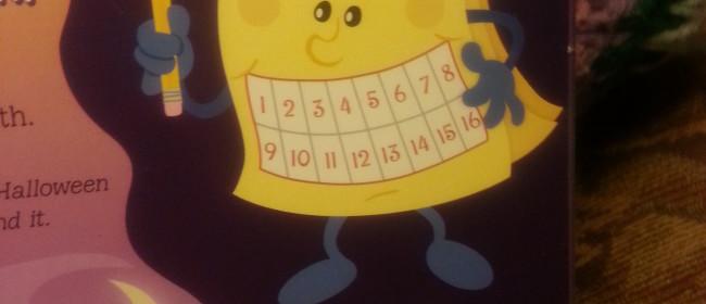 Halloween Countdown Calendar Giveaway