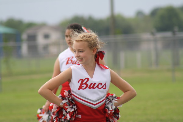 Sporty Grandchildren - Cheerleader Granddaughter - Geli