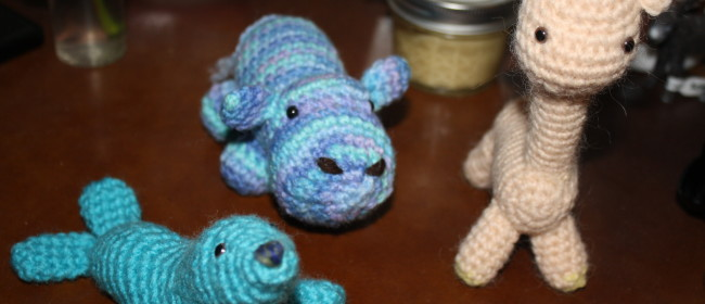Cute Crocheted Critters for Wordless Wednesday!