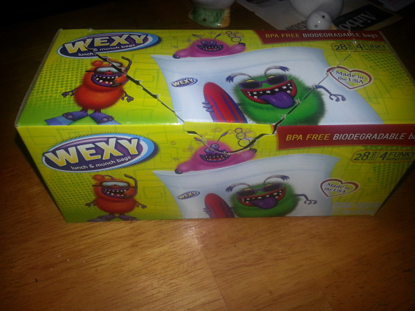 Even the Wexy Bag Box is cute!