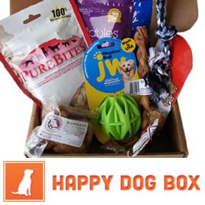 Happy Dog Box - A box each month!
