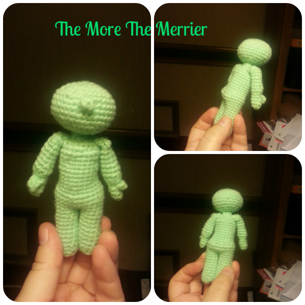 Crochet Martian Guy