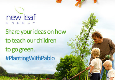 New Leaf Energy Helps Teach Children to Go Green