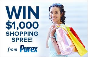 New Purex Sweepstakes!