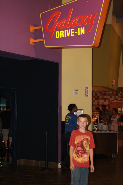 Galaxy Theater plays great movies!
