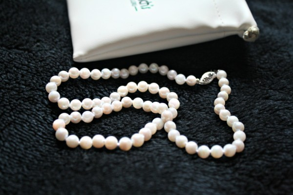 Beautiful string of cultured pearls from Kranich's Jewelers