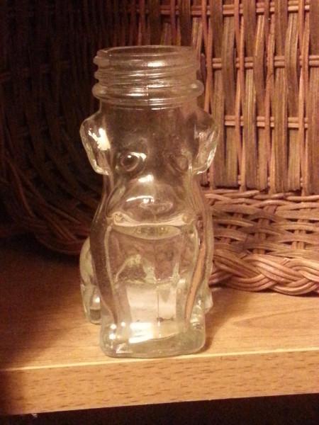 Cute Vintage Bulldog Pill Bottle from Phillips' Milk of Magnesia