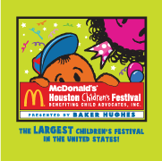 McDonalds Houston Children's Festival is BACK!