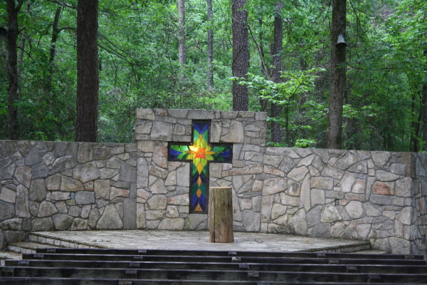 Chapel in the prayer garden at the Light of the World Women's Retreat