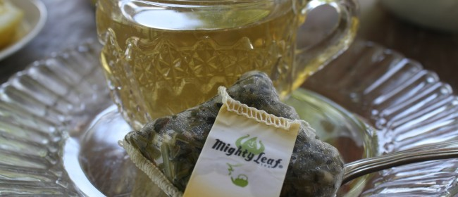 Make Your Own Spa Day with Mighty Leaf Tea!