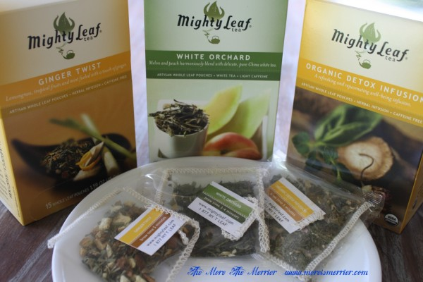 Ginger Twist White Orchard And Organic Detox Infusion Mighty Leaf Teas