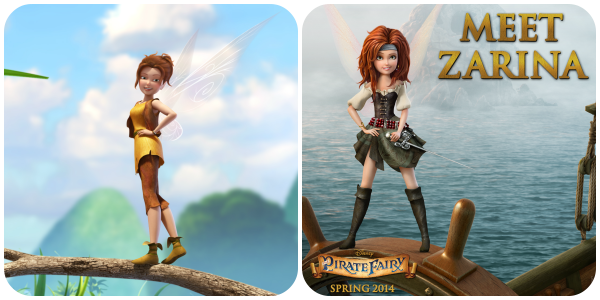 Zarina the Dust-Keeper Fairy, and the Pirate Fairy