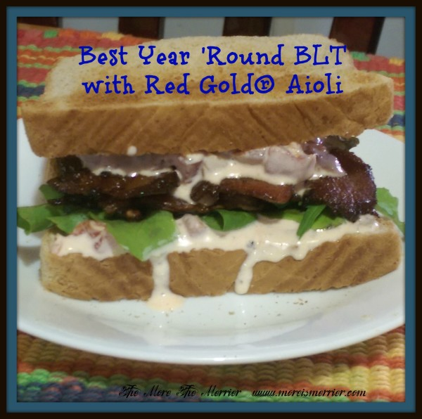 Best Year Round BLT with Red Gold® Aioli