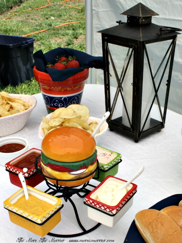 Hamburger Condiment set from Pier 1 Imports!