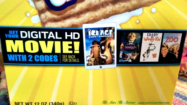 Get free HD movies from General Mills Big G Cereals!