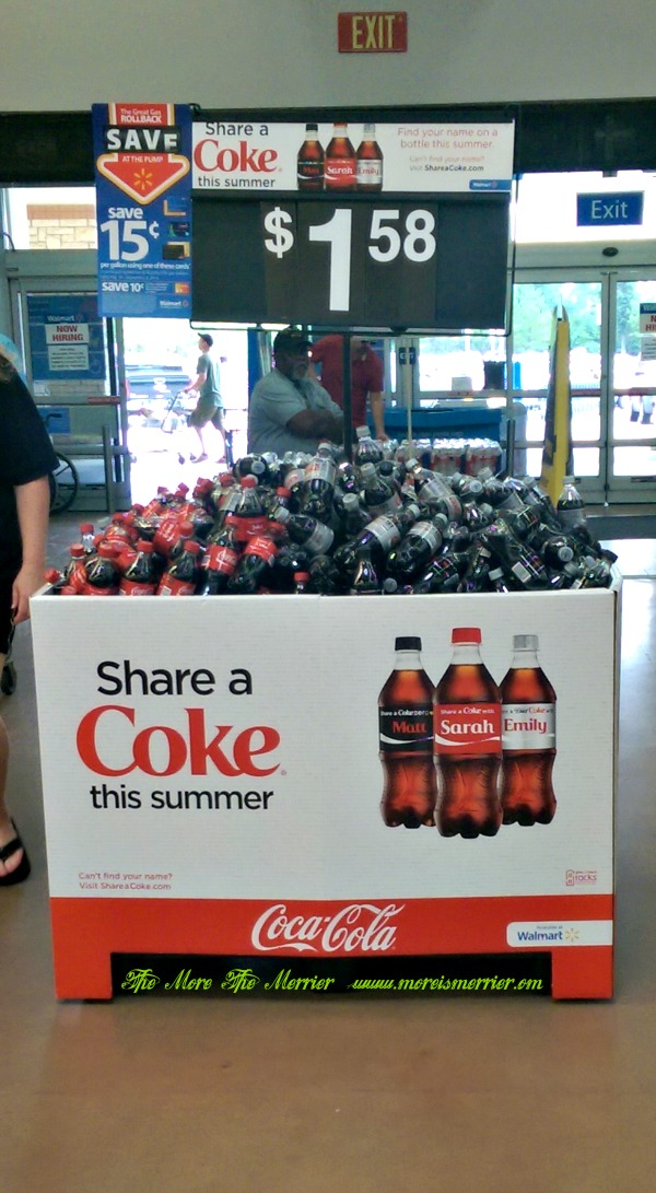 Share A Coke® from this bin!