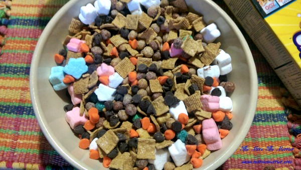S'mores Snack Mix made with Big G cereals.