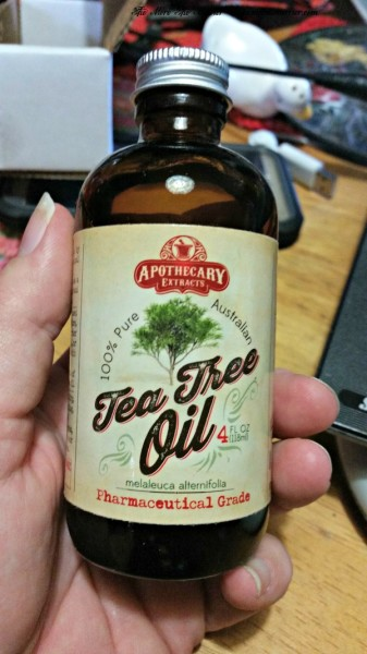 Bottle of Australian Tea Tree Oil