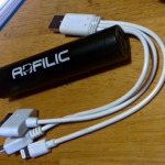 Adfilic Power Bank and 3-in-1 USB adapter