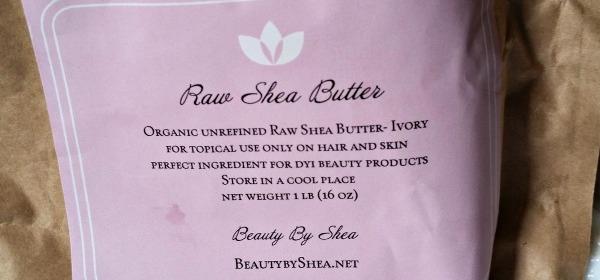 DIY ~ Whipped Shea Butter Body Cream