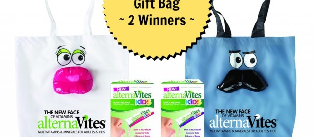 alternaVites Celebrity Gift Bag Giveaway