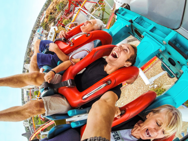 GoPro HERO at the Amusement Park!