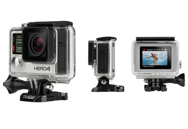 The Wonderful GoPro HERO4 Silver