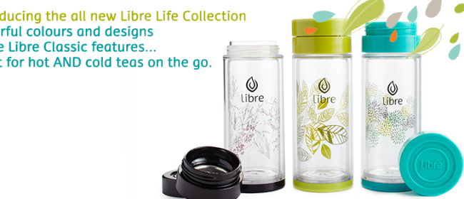 New! The Life Collection from Libre Tea