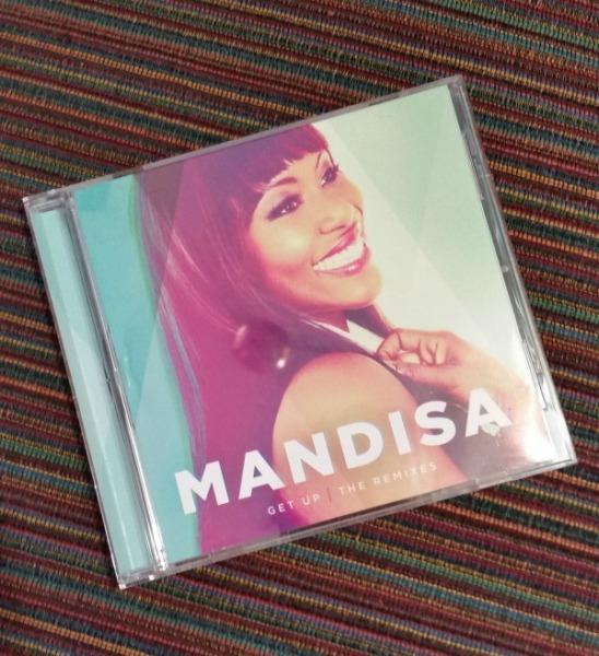 Mandisa Get Up The Remixes CD