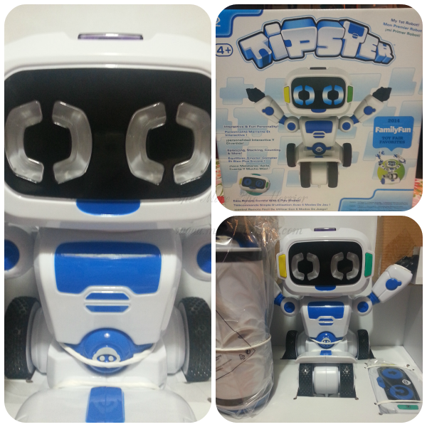 Tipster! My First Robot!