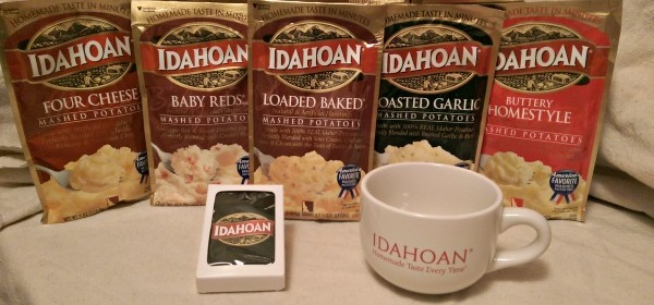 Idahoan Broccoli and Cheese Mashed Please!