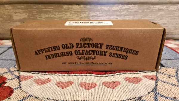 Box of Old Factory Candles Set