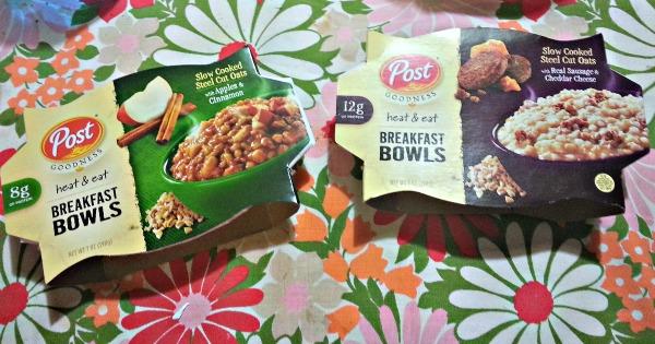 #PostGoodness Breakfast Bowls