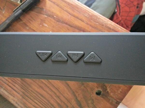 Control Buttons on the Liztek Speaker