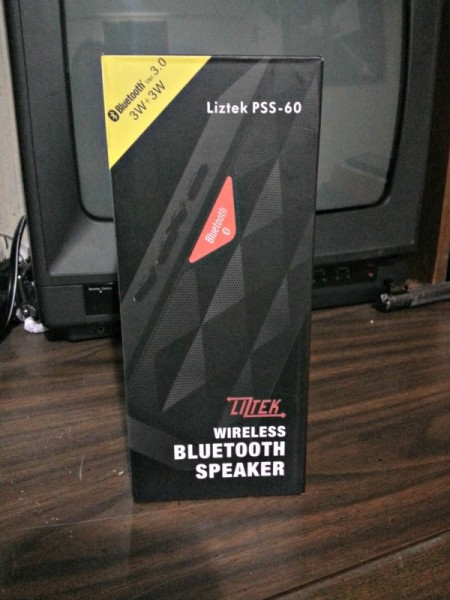 The Liztek Speaker in the box