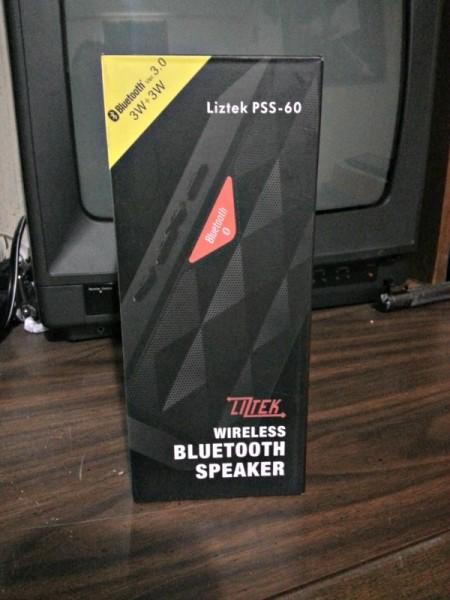 The Liztek Speaker in the box