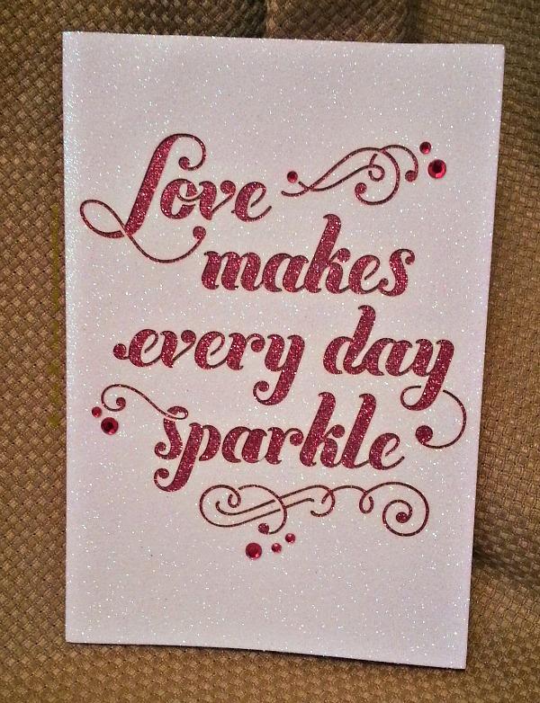 Love Makes Every Day Sparkle (Hallmark!)