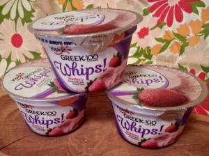 Yoplait Greek 100 Whips!