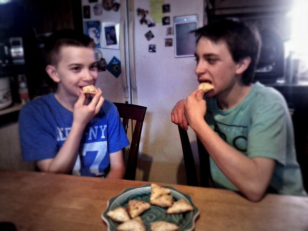 My boys LOVE NESTLE® HOT POCKET® Snack Bites!