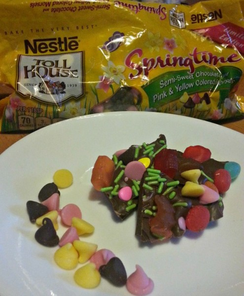 NESTLE® TOLL HOUSE® Springtime Morsels in Easter Bark