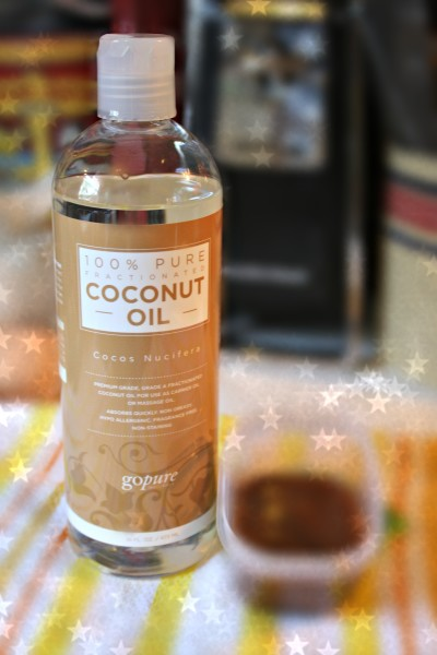 Fractionated Coconut Oil from goPURE Naturals