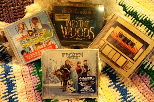 Win these Disney CD Soundtracks!