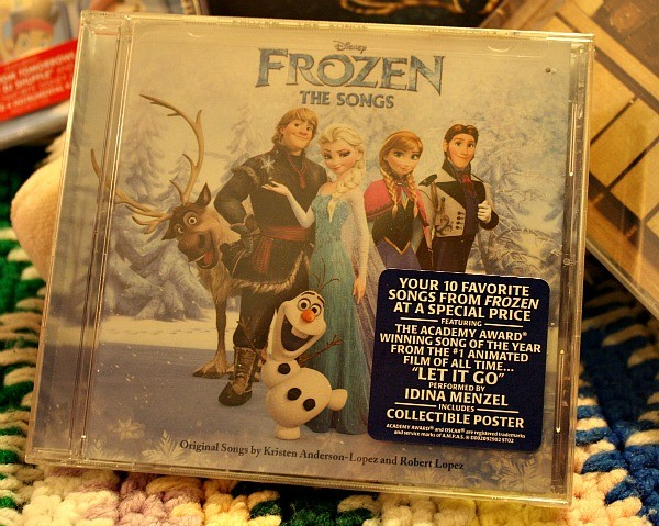 "What little girl wouldn't love to find Disney's ''Frozen - The Songs"" in her Easter basket?"